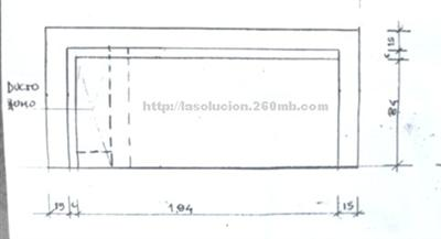Construcci n barbacoa uruguaya plano for Planos barbacoa