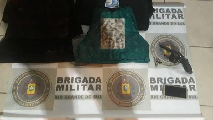 CACHOEIRINHA | Brigada Militar prende trio de ladrões no Jardim Conquista