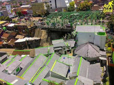 Kampung Putih di Kota Malang sebagai Destinasi Wisata Baru. Foto IG ayodolan. https://www.instagram.com/p/BR3LSWQDG3j/