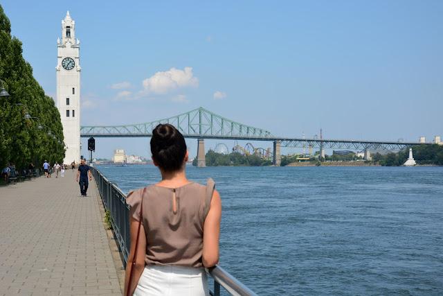 Old Port Saat kulesi-Montreal