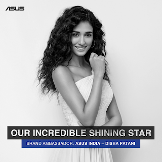 ASUS India announces Disha Patani as new brand ambassador