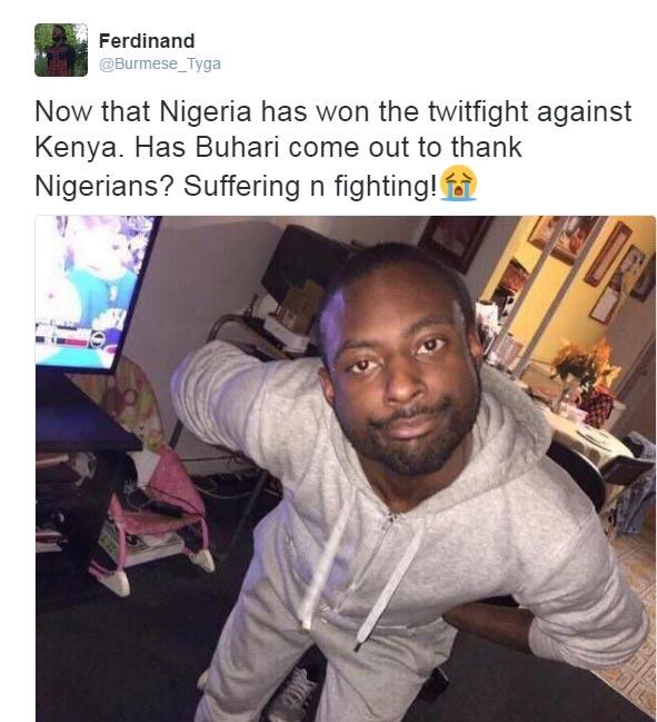Lol. Nigerian youths are always unappreciated