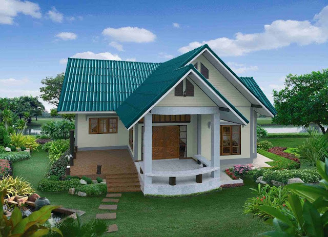 Beautiful simple houses design