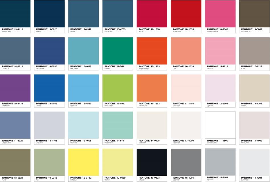 Pantone et tollens une belle collaboration for Peinture palette de couleur