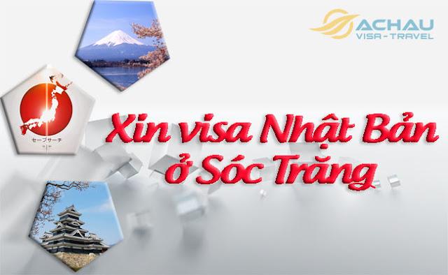 Xin visa Nhật Bản ở Sóc Trăng như thế nào ?