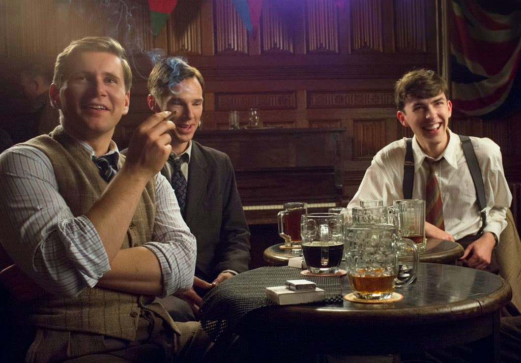 the imitation game-allen leech-benedict cumberbatch-matthew beard