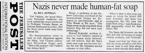 """Resultado de imagem para """"World Jewish Congress hoax holocaust"""