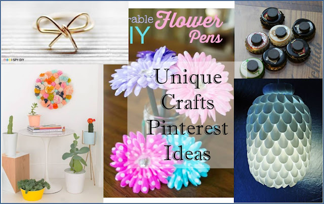 Unique Crafts Pinterest Ideas