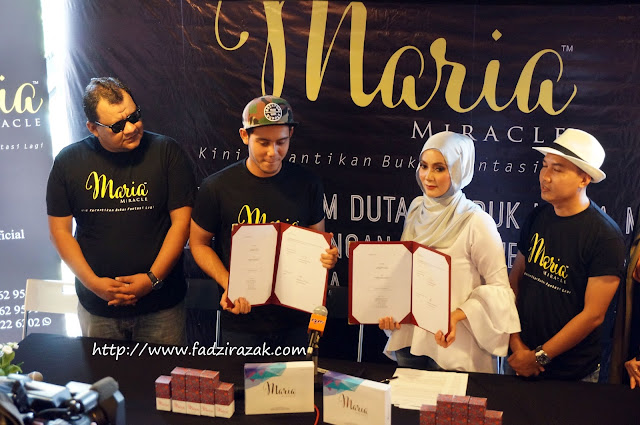 Hafidz Roshdi Duta Maria Miracle