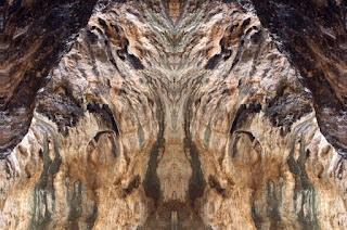 fotografía simétrica, surrealista, surrealismo, paredes, prehistórica, diseño, cavidad, cueva,
