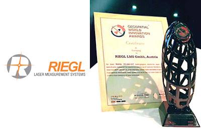 Geospatial World Award Exemplary Innovation 2013