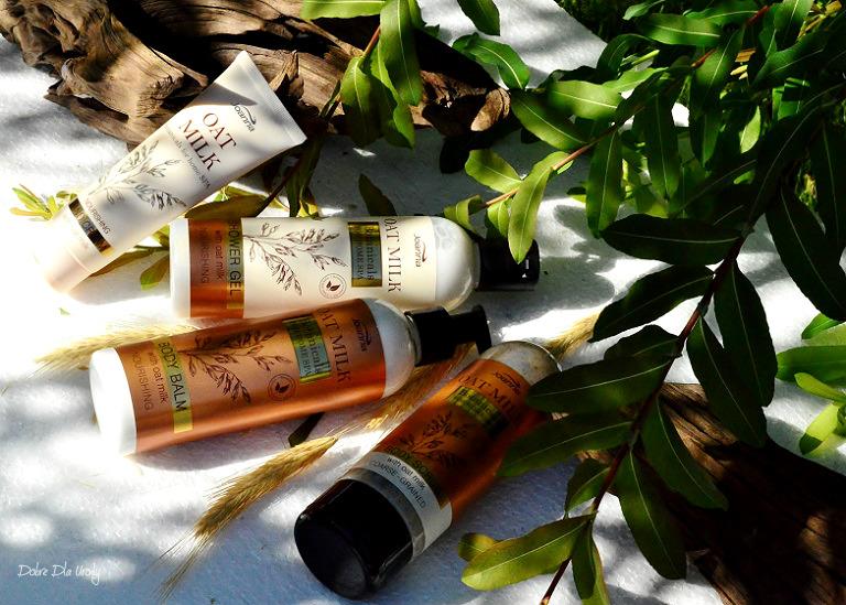 Joanna Botanicals for Home Spa Oat Milk - linia kosmetyków do ciała z Mleczkiem Owsianym recenzja