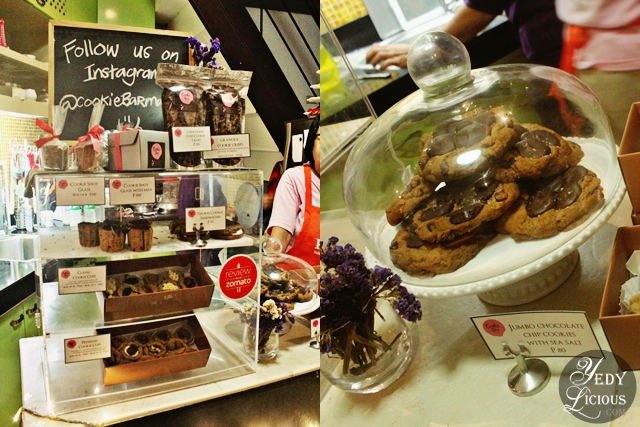 Cookie Shots and Regular Sized Cookies at Cookie Bar Manila