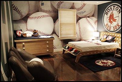 Teen Boys Sports Theme Bedrooms | Residence Furniture Ideas
