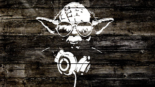 Funny Master Yoda Star Wars Wood Texture Design HD Wallpaper