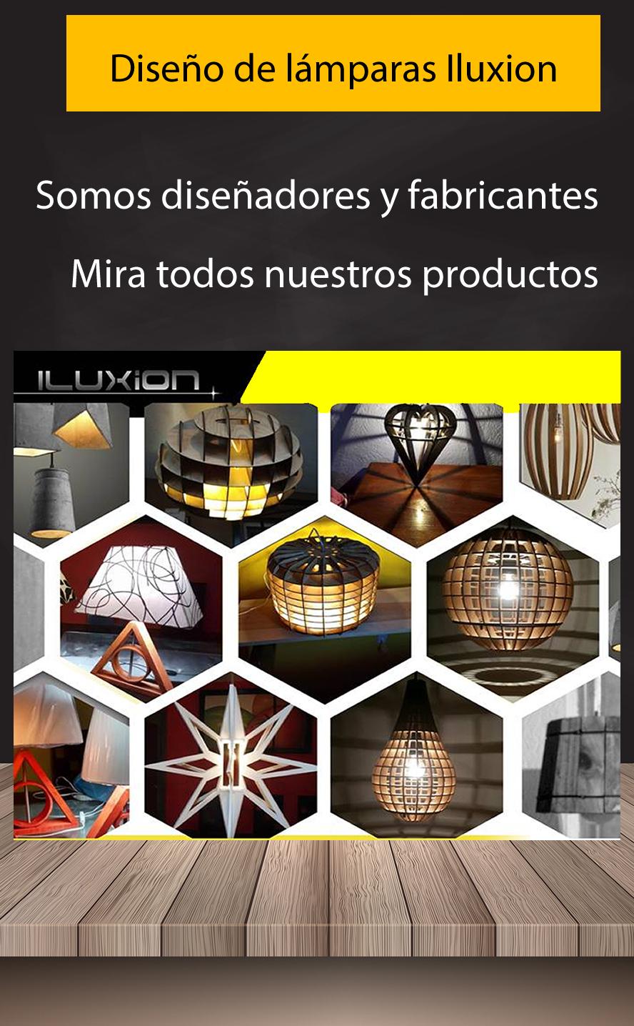 Diseño de lámparas Iluxion