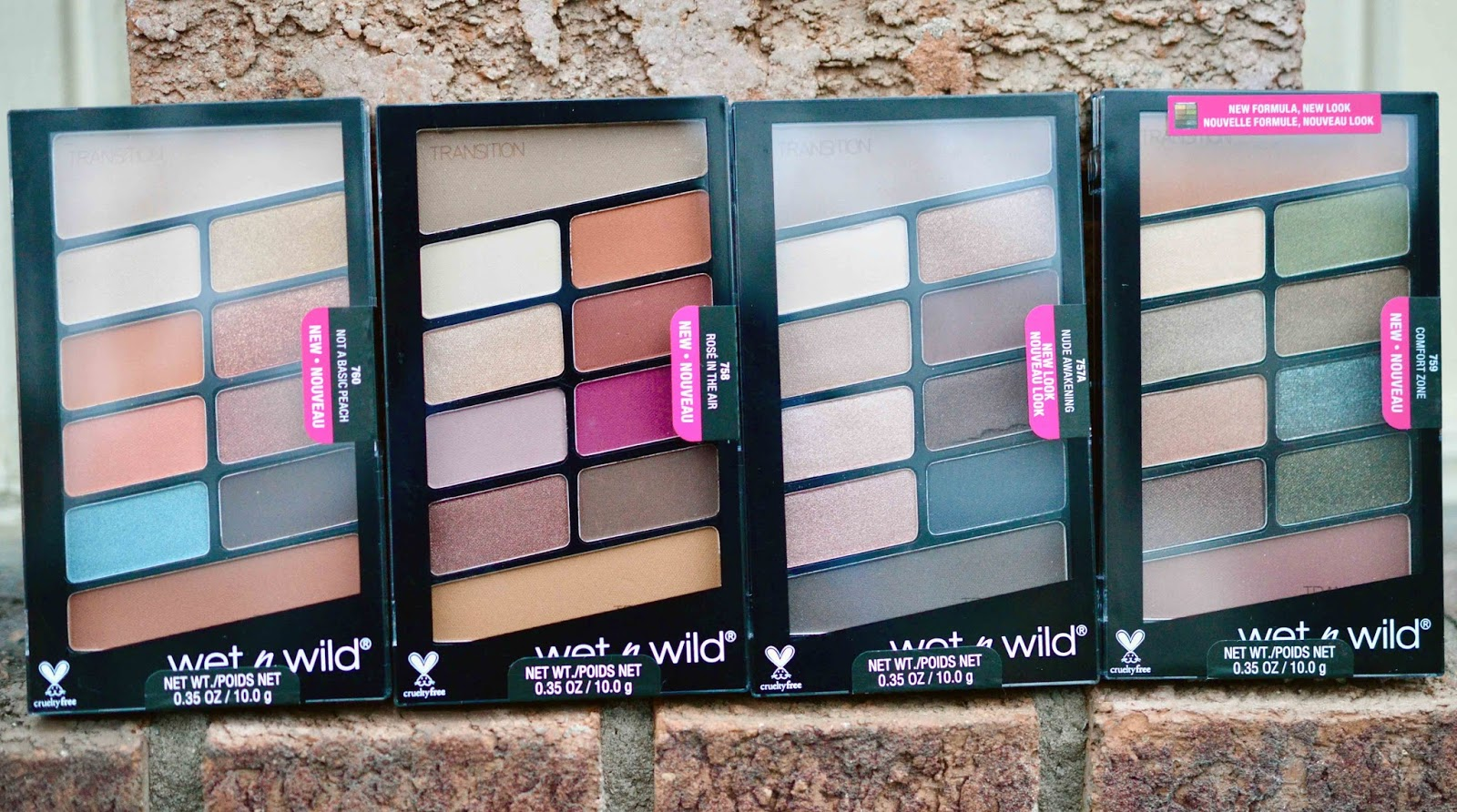 wet n wild color icon palette