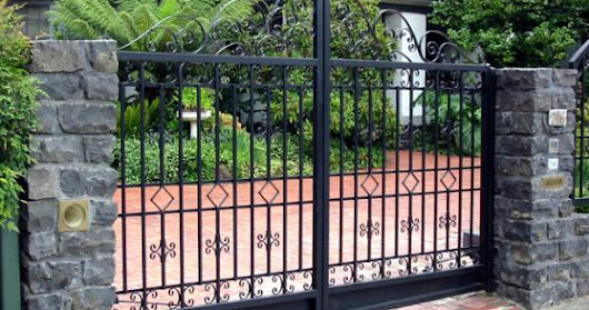 High Quality Automated Driveway Gates