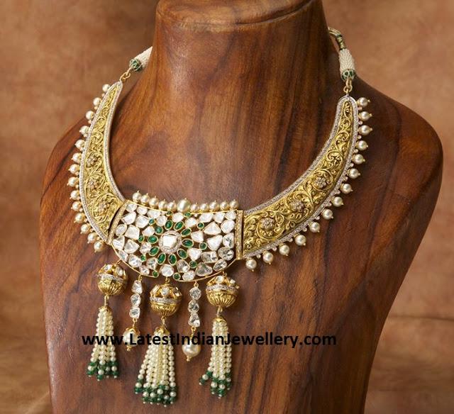 Nizam Gold Necklace