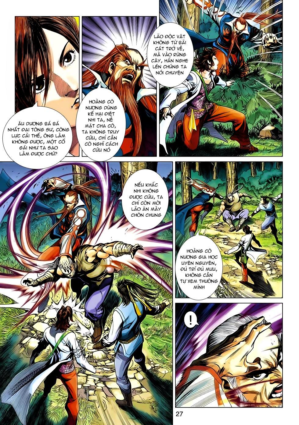 Anh Hùng Xạ Điêu anh hùng xạ đêu chap 54: kiếp hậu dư sinh thiến nữ kỳ mưu trang 27