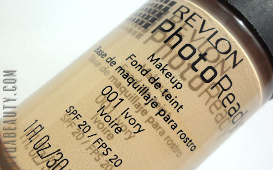 Revlon, PhotoReady Makeup, SPF 20