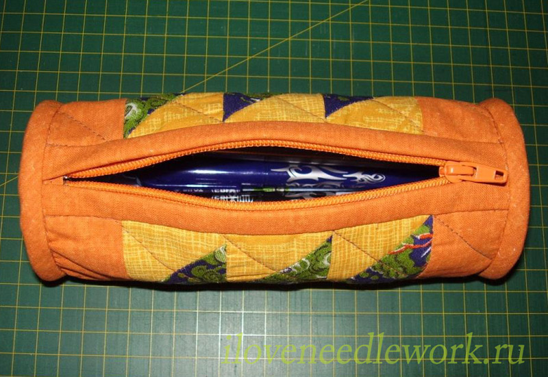 Patchwork Pencil Case Tutorial