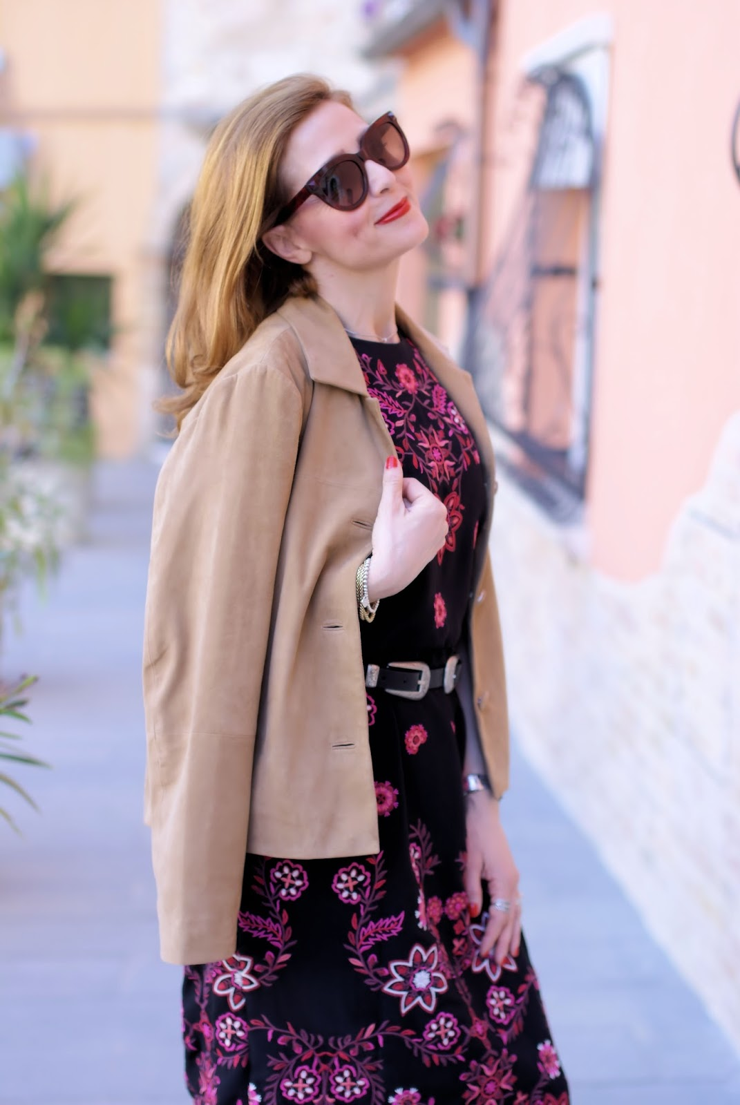 Western folk chic outfit: Tilane jacket from 1.2.3 Paris on Fashion and Cookies fashion blog, fashion blogger style