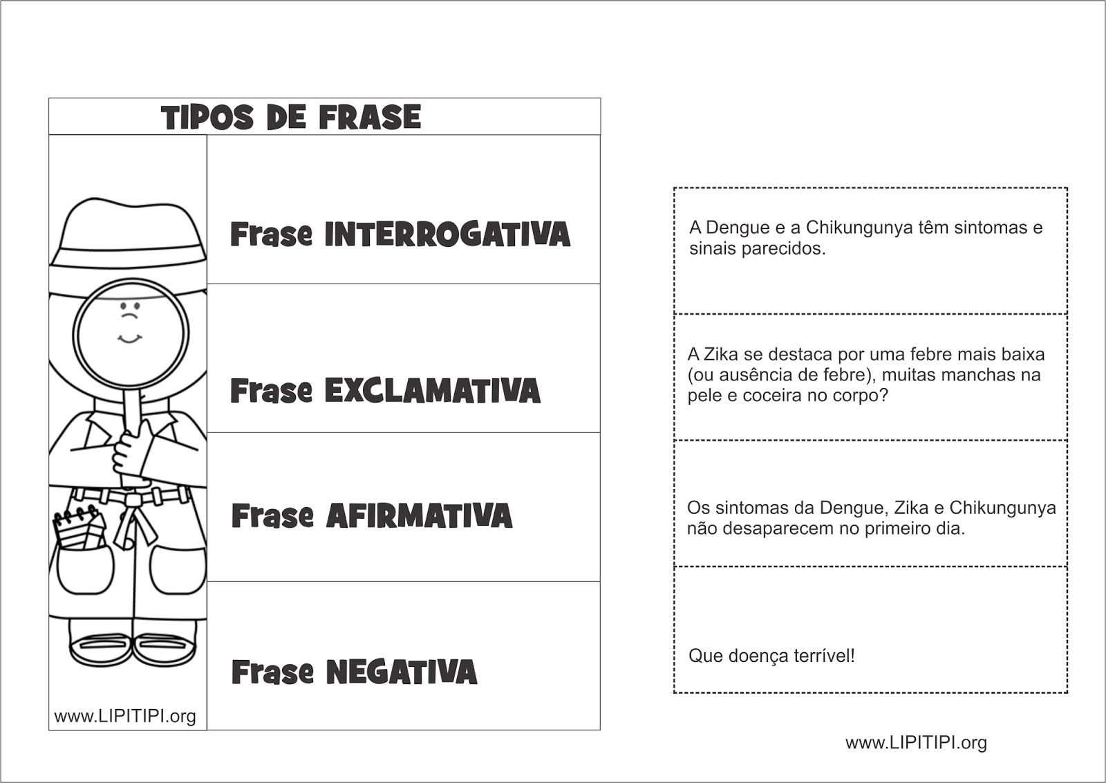 Tipos De Frases 3 Ano Ensino Fundamental Xe46 Ivango