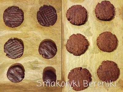 Ciasteczka z czekoladą i dynią