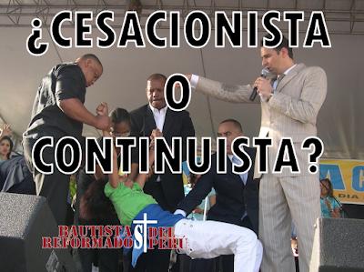 ¿Cesacionista o Continuista? - Miguel Rodriguez