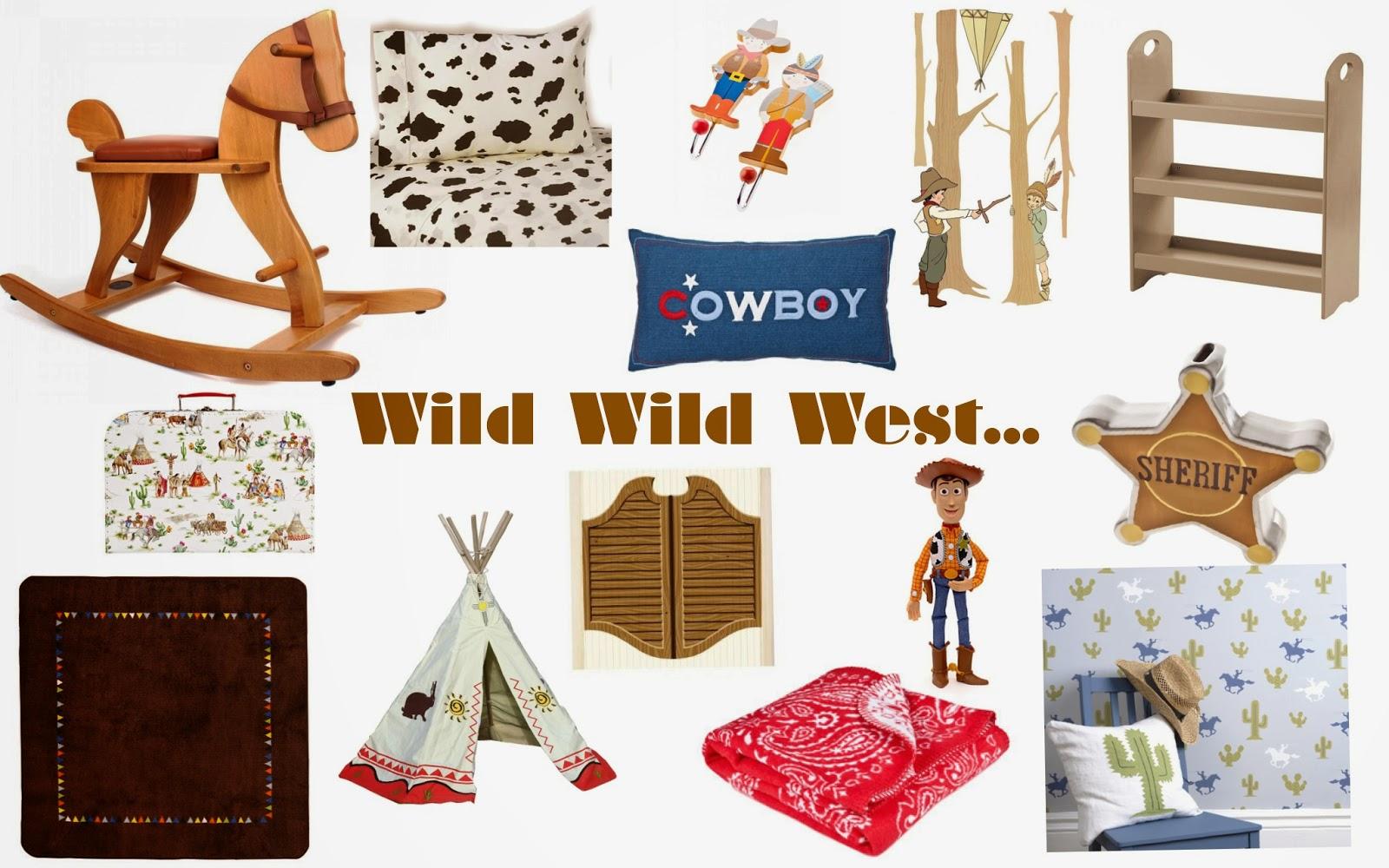 A Wild Wild West Kids Bedroom Inspired By New Disney
