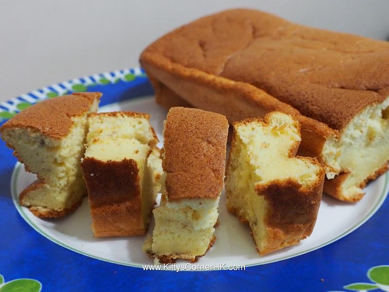 Light Banana Cake DIY recipe 輕盈香蕉蛋糕自家食譜