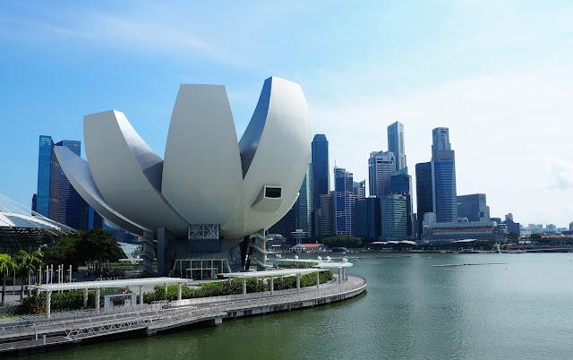 Marina Bay Reservoir Singapur
