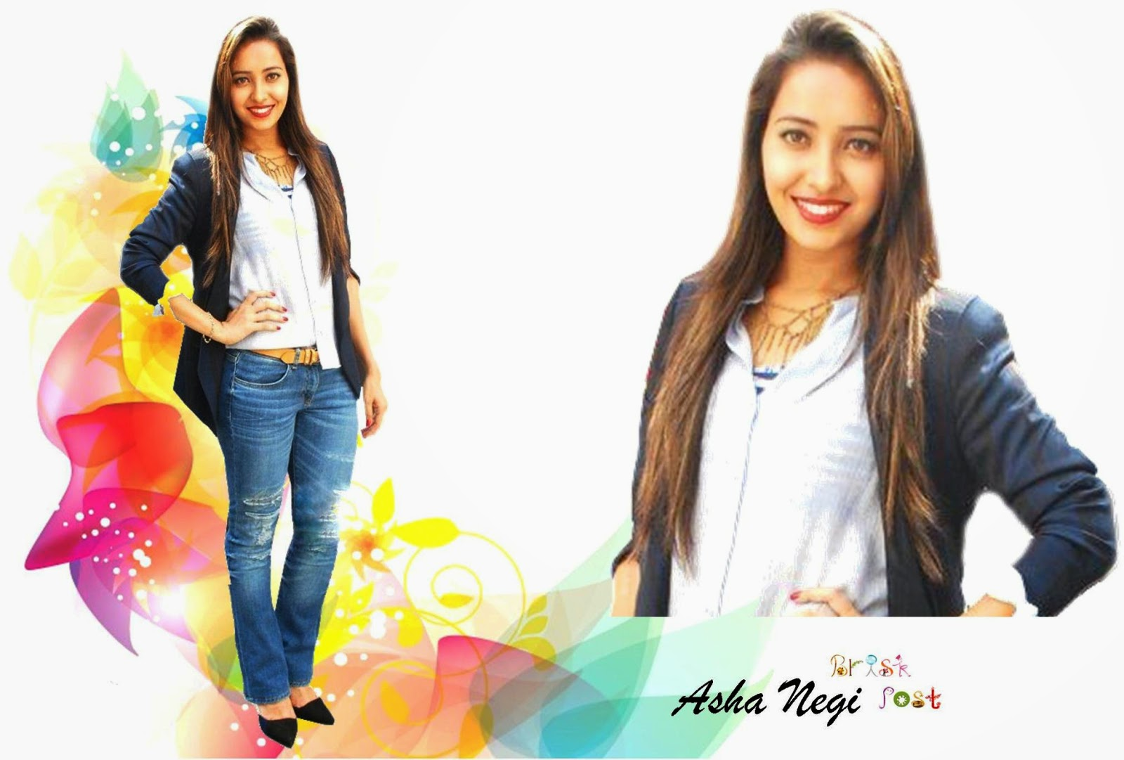 Asha Negi Wallpaper