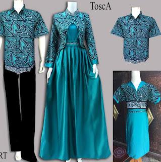 model baju batik couple gamis masa kini