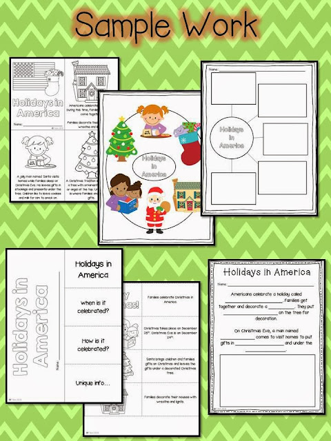 Christmas Around the World unit- social studies and ELA activities to teach students diversity during the holidays