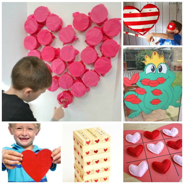 25 VALENTINE'S GAMES for kids that they will love!  So many fun ideas! #valentinesdaygamesforkids #valentinespartyideasforkids #valentinesdaycrafts