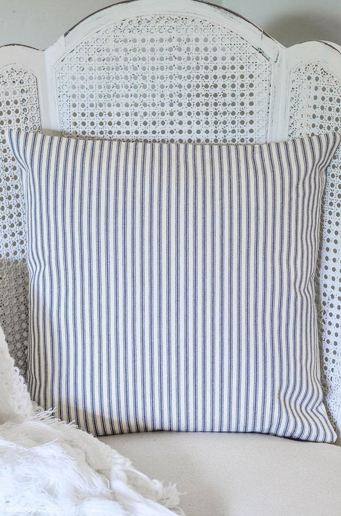 Easy DIY Envelope Pillow Cover Tutorial | anderson + grant