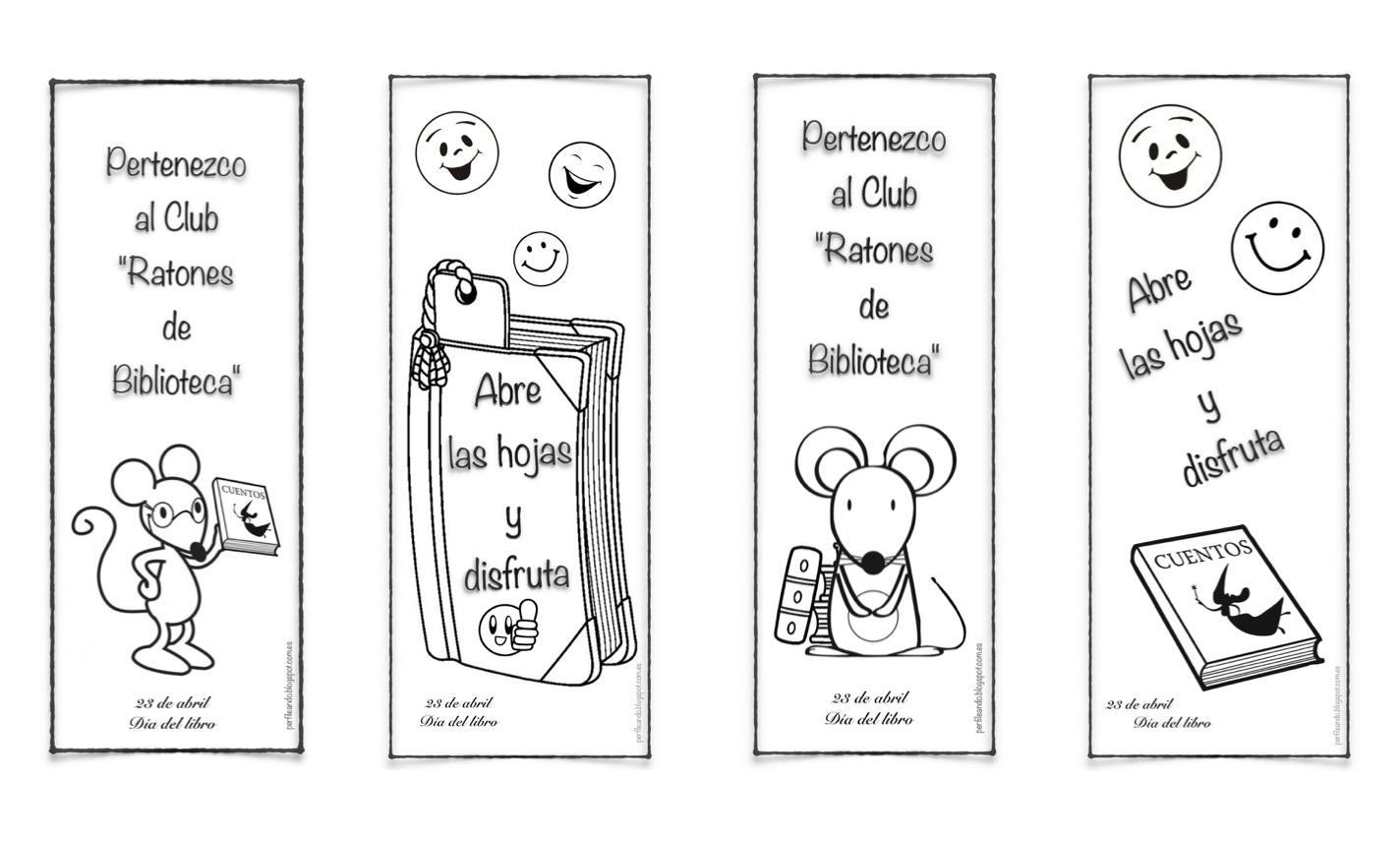 Perfileando. : Láminas y decoración escolar: día del libro II.
