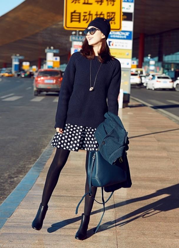 Asian E News Portal Cecilia Liu Shows Good Fashion Taste