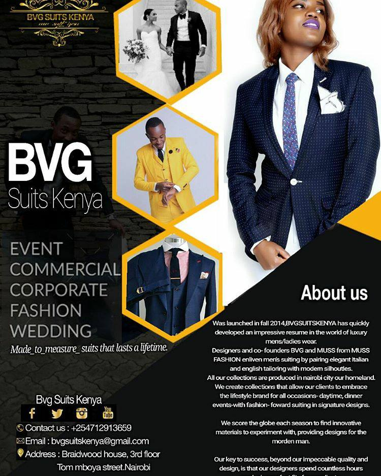 BVG Suits Kenya: Making Suits Great Again