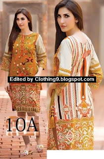 Subhata Embroidered Tunic 2016 by Shariq