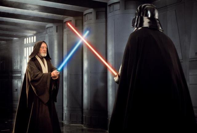 Obi Wan Kenoby Darth Vader