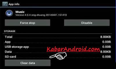 Solusi Tidak Bisa Memutar Musik MP3 Di Android
