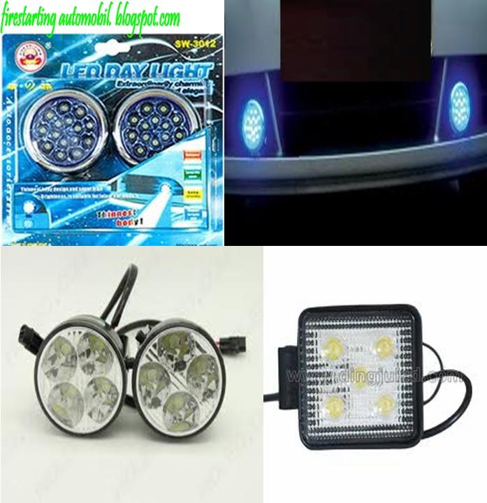 Fire Starting Automobil: Diy Pemasangan Lampu LED DayLight