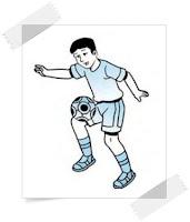 Teknik menghentikan bola dengan paha