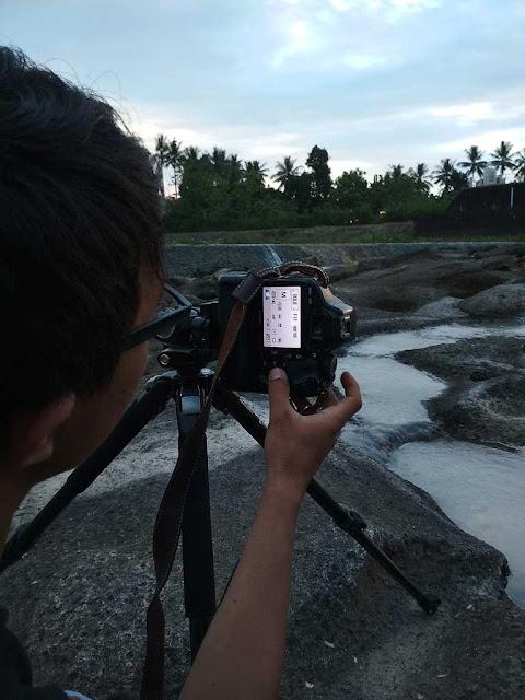 mengatur exposure waktu hunting foto di kampili gowa
