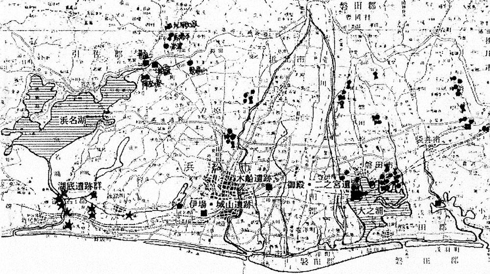 2017年1月14日講義資料「浜名湖底遺跡と東海道」より転載