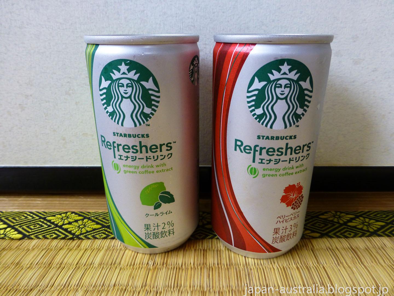 Japan Australia Starbucks Refreshers Japan