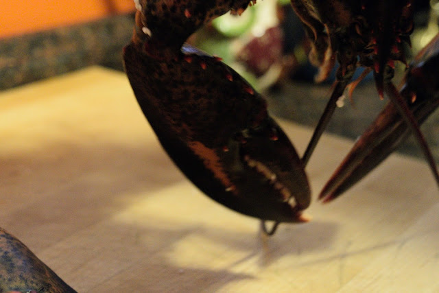 how to cook live lobster in the oven